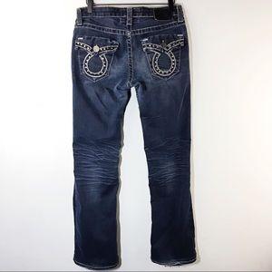 36cb1593698 Big Star · Big Star Miki Jeans Bootcut Dark Wash Size 26R